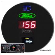 Velocímetro F1000 F4000 + Sensor Para Diferencial.