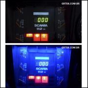Iluminação Painel Scania 112 e 113 Cor única